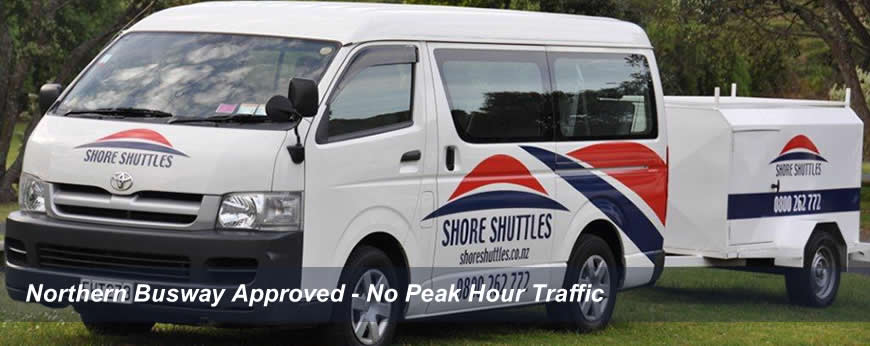 Shore Shutttles - Auckland's North Shore to the Airport and back Direct